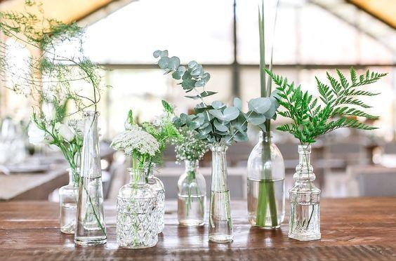 Nachhaltiger Blumenschmuck und Dekoration
