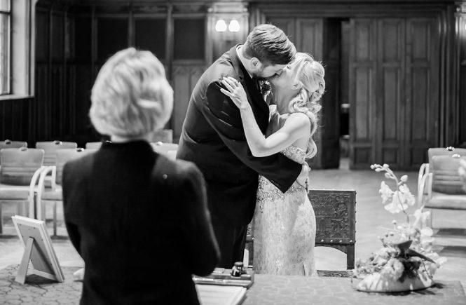 Das Brautpaar und ich - Hochzeitsfoto und Zeremonie