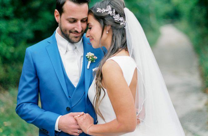 Ein romantischer Hochzeitstag im Vintage-Look
