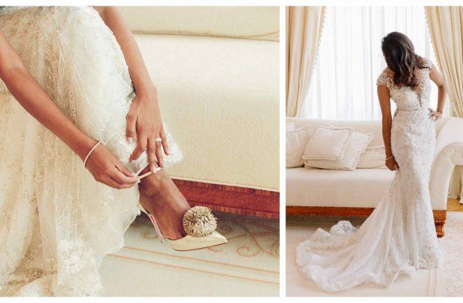 Brautkleid Trend extravagant