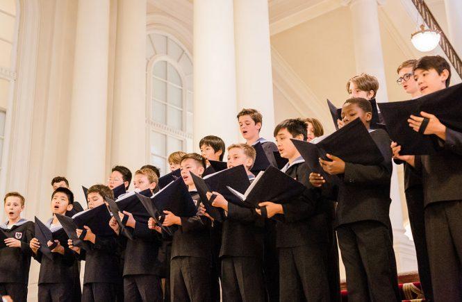 Wiener Sängerknaben im Palais Coburg