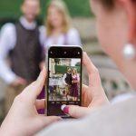 Hochzeit im Schloss Grafenegg, Handyfotos