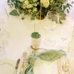 Hochzeit im Schloss Grafenegg, Tischdekoration