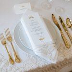 Hochzeitsinspiration in Grün und Apricot