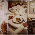 Sommerhochzeit mit französischem Flair Abendessen