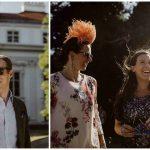 Sommerhochzeit mit französischem Flair Gäste bei der Agape