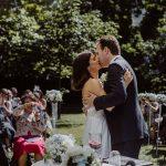 Brautpaar nach dem Ja-Wort
