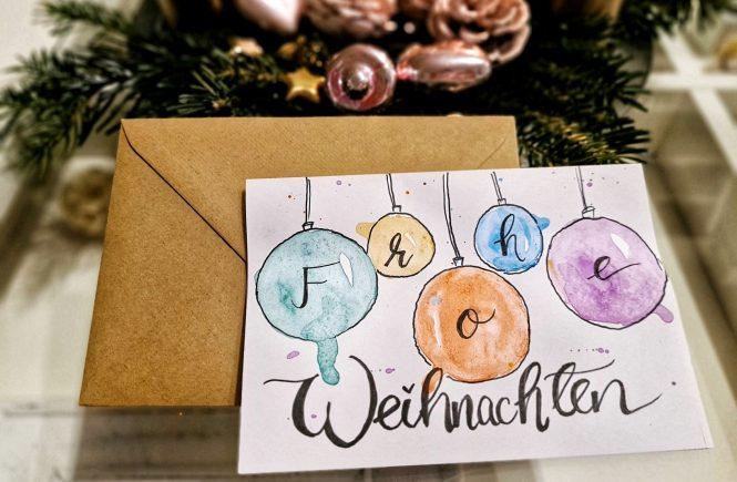 "DIY-Weihnachten,DIY-Weihnachtskarte ""Weihnachtskugel"""