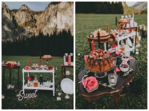 Styled Shoot: Bergverliebt - Sweet Table