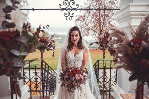 Die Braut kurz vor der Freien Trauung